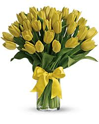YELLOW Tulips- #BarAThon