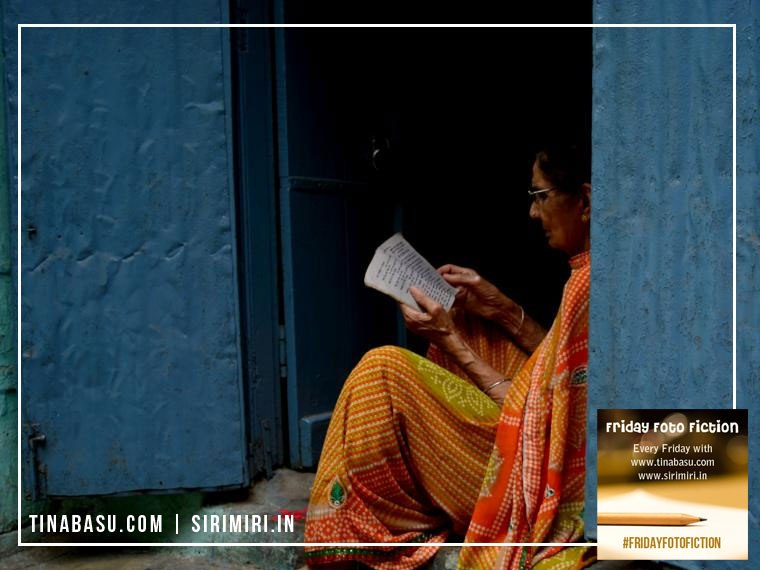 Aaji #FridayFotoFiction