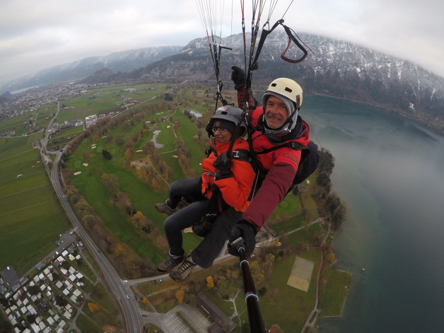 The day I flew high in the sky-My maiden Paragliding Experience #TravelDiary