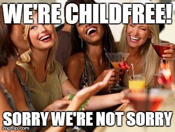 No kids please#WriteBravely