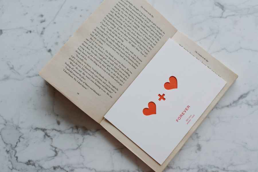 The book with a red cover #LoveStories
